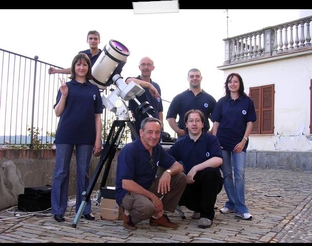 Il nostro gruppo a Moasca nel 2005