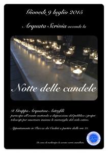 Notte delle candele 2015