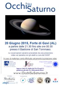 Occhi su Saturno 2015