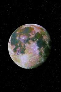 Luna a colori