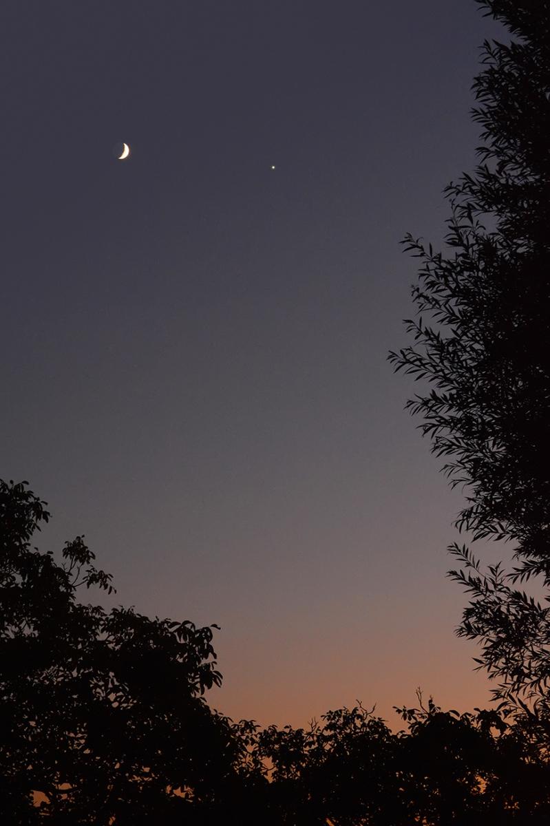 Congiunzione Luna - Giove