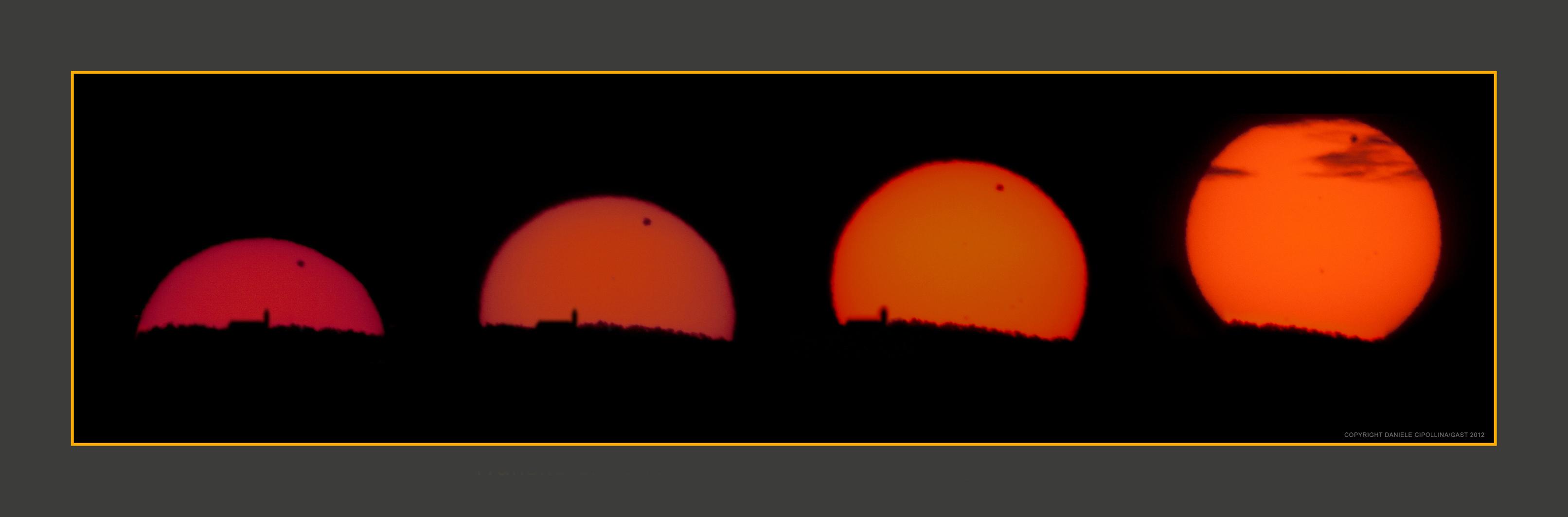 Transito di Venere sul Sole